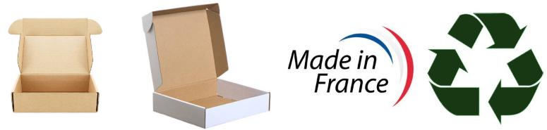 Boîtes Postale Kraft et Blanche
