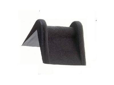 Angle Protection Plastique Noir 25 x 25 Mm