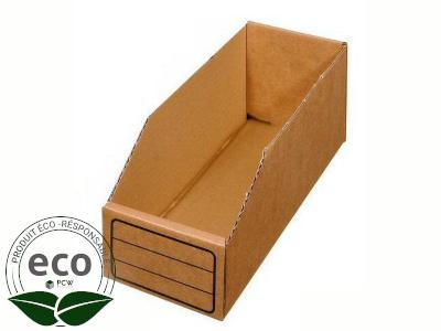 Bac Carton 400 x 150 x 110 Mm