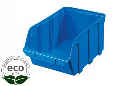 Bac à Bec Plastique Bleu 330 x 200 x 150 Mm