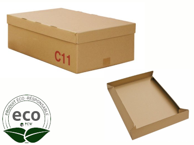 Boîte Cloche Galia Kraft 300 x 200 x 200 Mm LNE 1.3