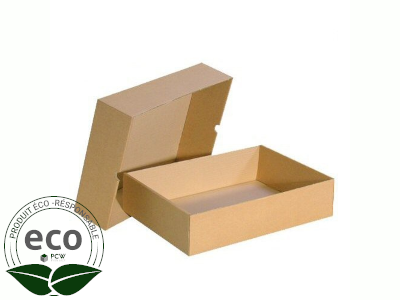 Boîte Cloche Kraft 305 x 215 x 105 Mm PC10