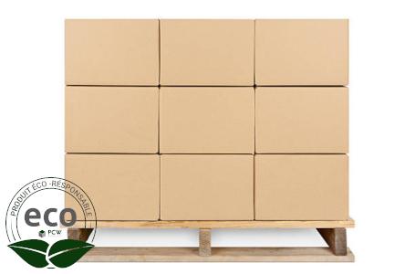 Caisse Carton Simple Cannelure 600 x 400 x 300 Mm LNE 1.2 - SC604030