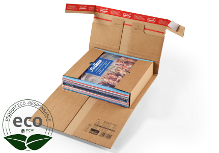 Étui Postal Kraft Adhésif Renfort-Pac Colompac 322 x 292 Mm PC20