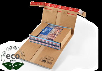 Étui Postal Kraft Adhésif Renfort-Pac Colompac 465 x 330 Mm PC20