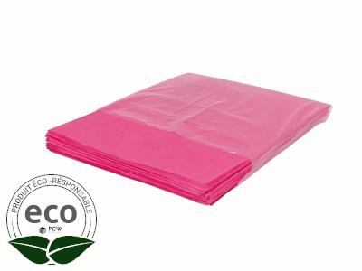 Papier Mousseline Rose Feuille 50 x 75 Cm 20G/M2