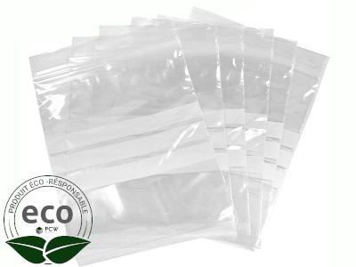 Sachet Eco Clip 3 Bandes 16 x 22 Cm