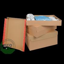 Boîte Couvercle Eurobox Colompac 563 x 382 x 282 Mm - EURO643