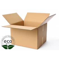Carton Recyclé Simple Cannelure 180 x 130 x 120 Mm LNE 1.1 - SC181312
