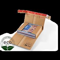 Étui Postal Kraft Auto-Adhésif Inviolable 310 x 220 x 80 Mm PC 20