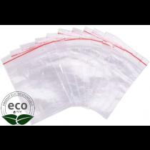 Sachet Eco Clip Neutre A Glissière 12 x 18 Cm