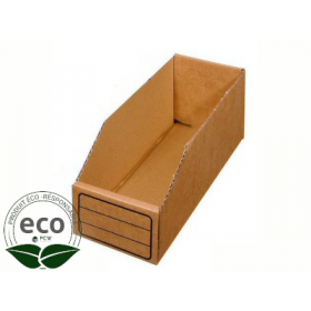 Bac Carton 300 x 50 x 110 Mm