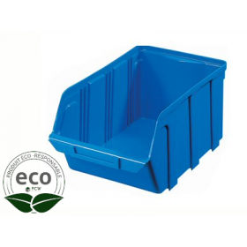 Bac à Bec Plastique Bleu 160 x 100 x 70 Mm