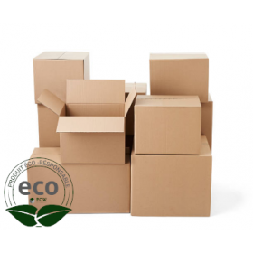 Caisse Carton Simple 360 x 360 x 250 Mm LNE 1.1 - SC363625