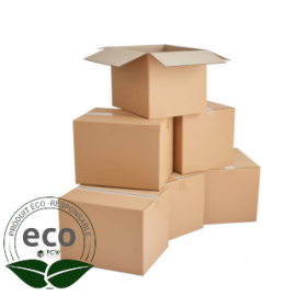 Emballage Carton Recyclable 350 x 350 x 350 Mm LNE 2.3 - DD353535