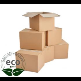 Caisses Cartons Double Cannelure 350x260x165 Mm LNE 2.3 - DD3526165