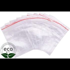 Sachet Eco Clip Neutre à Glissière 12 x 18 Cm