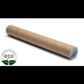 Tube Écru Bouchons Plastique 1220 x Ø 70 Mm