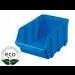 Bac à Bec Plastique Bleu 230 x 140 x 125 Mm