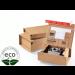 Boîte Postale Avec Adhésif ColomPac 305 × 212 × 110 Mm Micro Cannelure Kraft