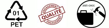 Engagement Qualité PET Anti-Choc