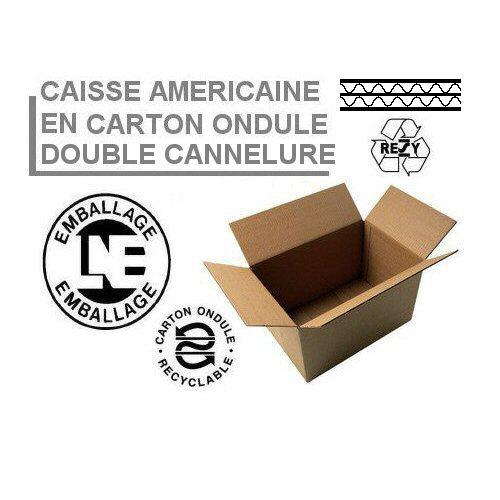 Caisse Américaine Double Cannelure