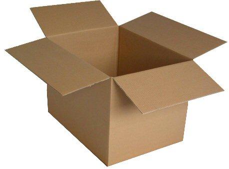 Caisse américaine en carton ondulé