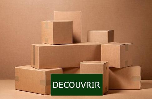 Découvrez plus de 230 formats de caisses américaines en carton ondulé simple, double ou triple cannelure