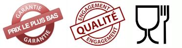 Engagement Qualité, Garantie Prix le Plus Bas et Qualité Alimentaire