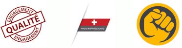 Engagement Qualité, Ultra Robuste et fabriqué en Suisse