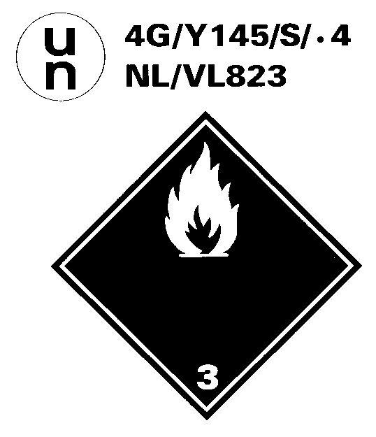 Logo Norme UN 4 Chiffres