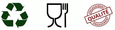 Recyclable, Agrée Contact Alimentaire, Engagement Qualité
