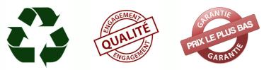 Recyclable, Engagement Qualité et Garantie Prix le Plus Bas