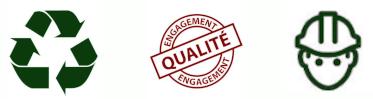 Recyclable, Engagement Qualité et Utilisation Manuel