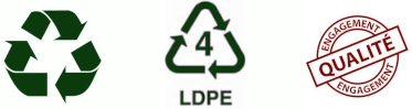 Recyclable, LDPE, Engagement Qualité