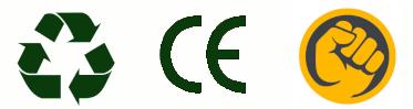 Recyclable, Norme Européenne et Ultra Résistant