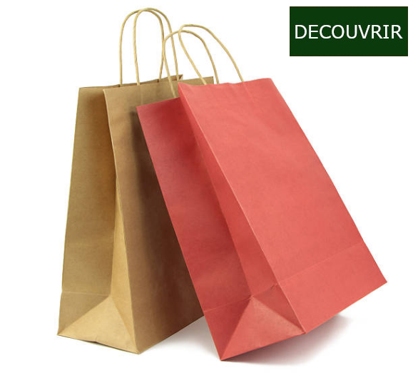 Les petits emballages sont particulièrement adaptés pour le conditionnement, l'expédition ou la vente à emporter de petits objets